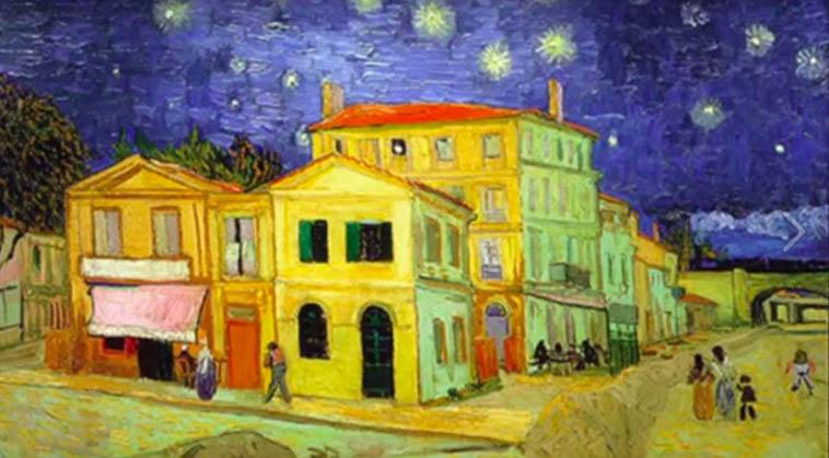 Alain amiel - La chambre jaune van gogh ...